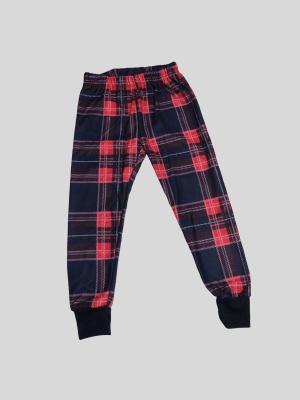 Pantalon style écossais