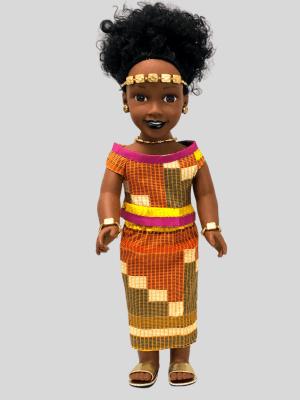 Ama, la princesse Ashanti du Ghana