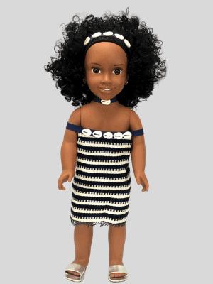 Kahika, la fille du groupe Wè de la Côte d'ivoire