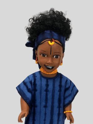 Poupée Noire, Cumba la princesse Peul d'Afrique