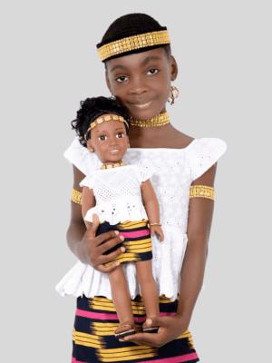 Lolomi, la princesse Akan de la Côte d'ivoire